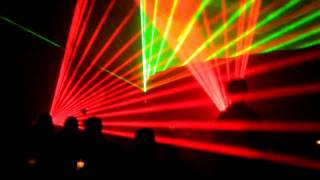 klaus schulze laser nets in show