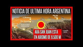 🔥SUBMARINO ARA SAN JUAN ESTA EN ABISMO DE 6 MIL METROS PROFUNDIDAD 🔴 #Argentina #ArasSanJuan