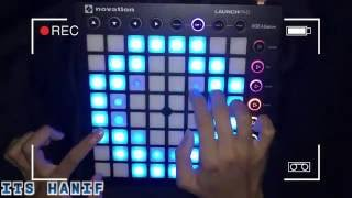 The Chainsmokers - Don't Let Me Down - Launchpad MK2 Cover + Project File