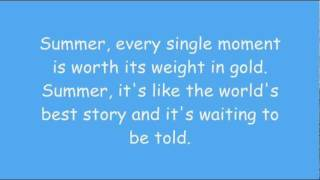 Phineas And Ferb - Summer (Where Do We Begin?) Lyrics (HD + HQ)
