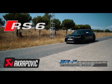 Audi RS6 4.0 TFSi Remap Stage 1 By BR-Performance