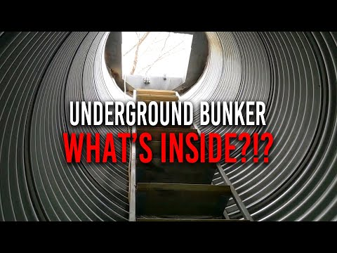 What's Inside This Underground Bunker?