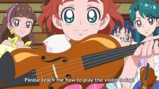 Go! Princess Precure - Haruka's First Violin Lesson