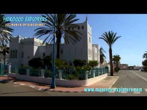 Sidi Ifni tour of the town, market and beach on the Atlantic Coast of Morocco