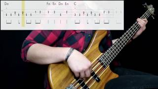 Madness - Our House (Bass Cover) (Play Along Tabs In Video)