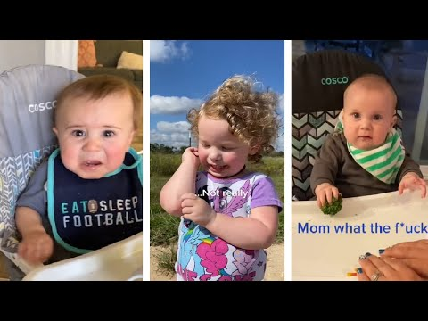 Funny Confusing baby - Cute video Tiktok #77 #shorts