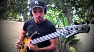 EXTREME SLAP BASS SOLO (by Miki Santamaria) - With TABS!