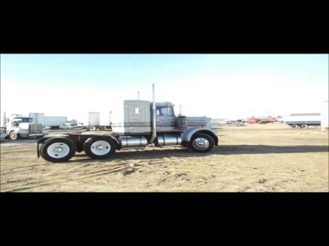 1981 Kenworth W900A semi truck for sale | no-reserve Internet auction March 9, 2017
