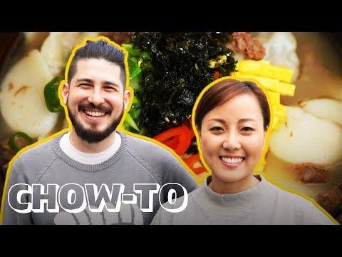 How to Make Dduk Guk (Korean Rice Cake Soup)   CHOW-TO