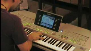 Beethoven Moonlight Sonata - Soul Save Remix - keyboard synth Hard Trance cover by LIVE DJ FLO