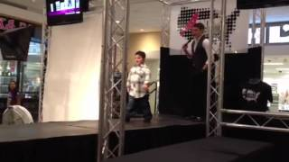 Luciano's first audition