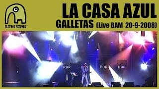 LA CASA AZUL - Galletas [Live BAM MTV Music Week | 20-9-2008] 3/15