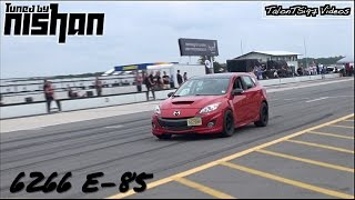 Big Turbo Mazdaspeed3 Roll Racing Porsche GTR & More