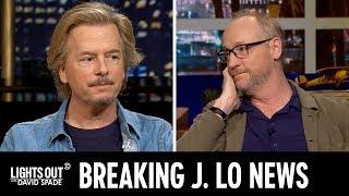 Breaking Jennifer Lopez News (feat. Matt Walsh) - Lights Out with David Spade