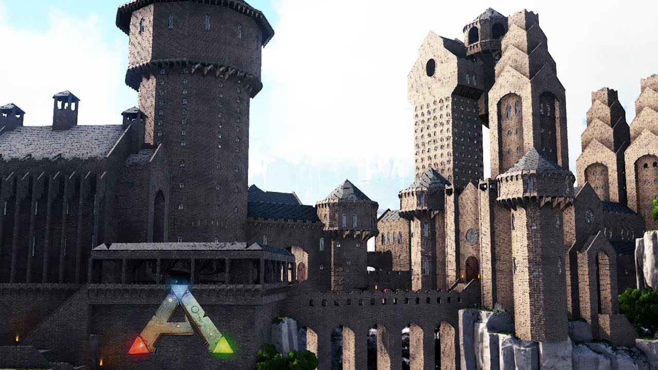 Sven P - How to Build Hogwarts from Harry Potter in Ark