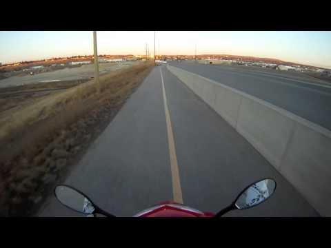 first ride of 2012 E-Bike