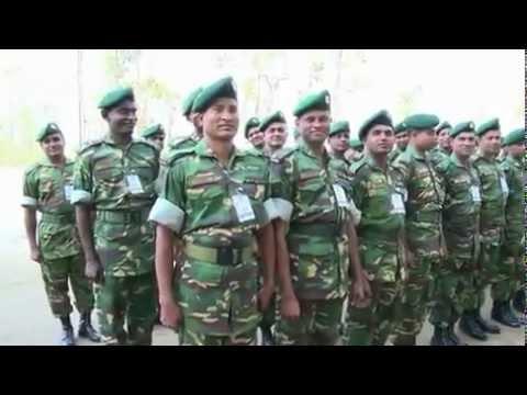 Military Training Exercise In Bangladesh – Exercise Shanti Doot 3