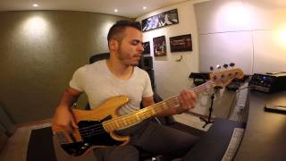 Level 42 - Love Games (Bass Cover by Adriano Aquino)