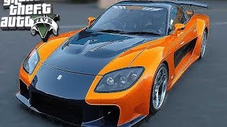Fast Furious Tokyo Drift 2016 - GTA 5