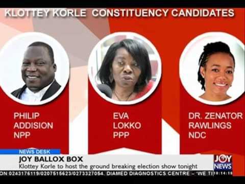 Joy ballot box - News Desk on Joy News (29-4-16)