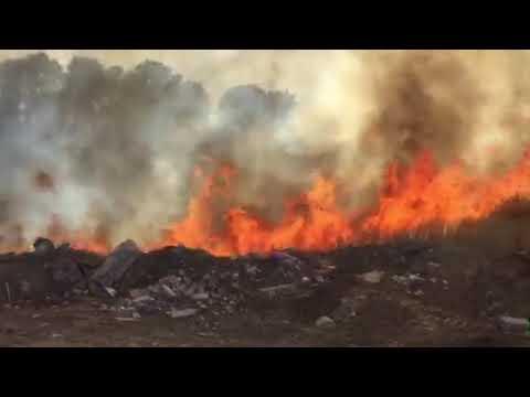 Под Новочеркасском ландшафтный пожар подходит к окраинным домам
