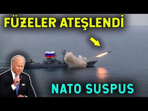 Rusya Yeni Füzeyle NATO'ya Meydan Okudu! Karadeniz'de Ateşlendi!