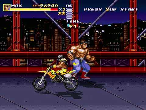 Streets of Rage Remake (Route 2: Max) (Bomber Games) (Windows) [2011] [PC Longplay]