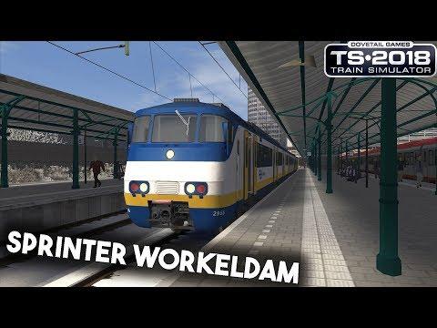 Train Simulator 2018 De Sprinter naar Workeldam