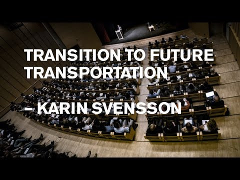 Karin Svensson: Road based transportation ready for disruption