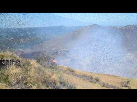 Masaya Volcano National Park – Santiago Crater.wmv