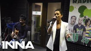 INNA - More Than Friends   Live @ Radio ZU