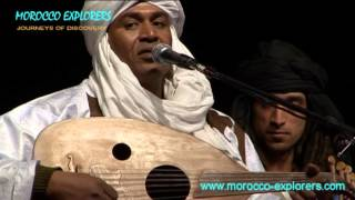 Traditional musicians live at Nomad Festival M´Hamid - Morocco Pt 7