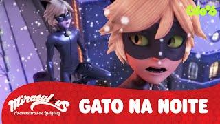 Cat Noir Canta - Um Gato na Noite | Miraculous: As Aventuras de Ladybug | Vídeo Oficial | Gloob