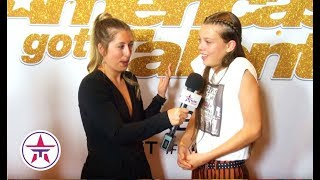 America's Got Talent: Courtney Hadwin OVERWHELMED After Her AGT Performance!