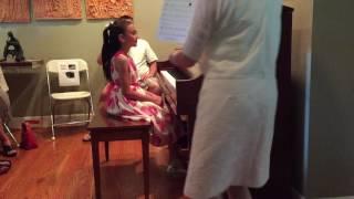 Audrey Piano Recital 2016