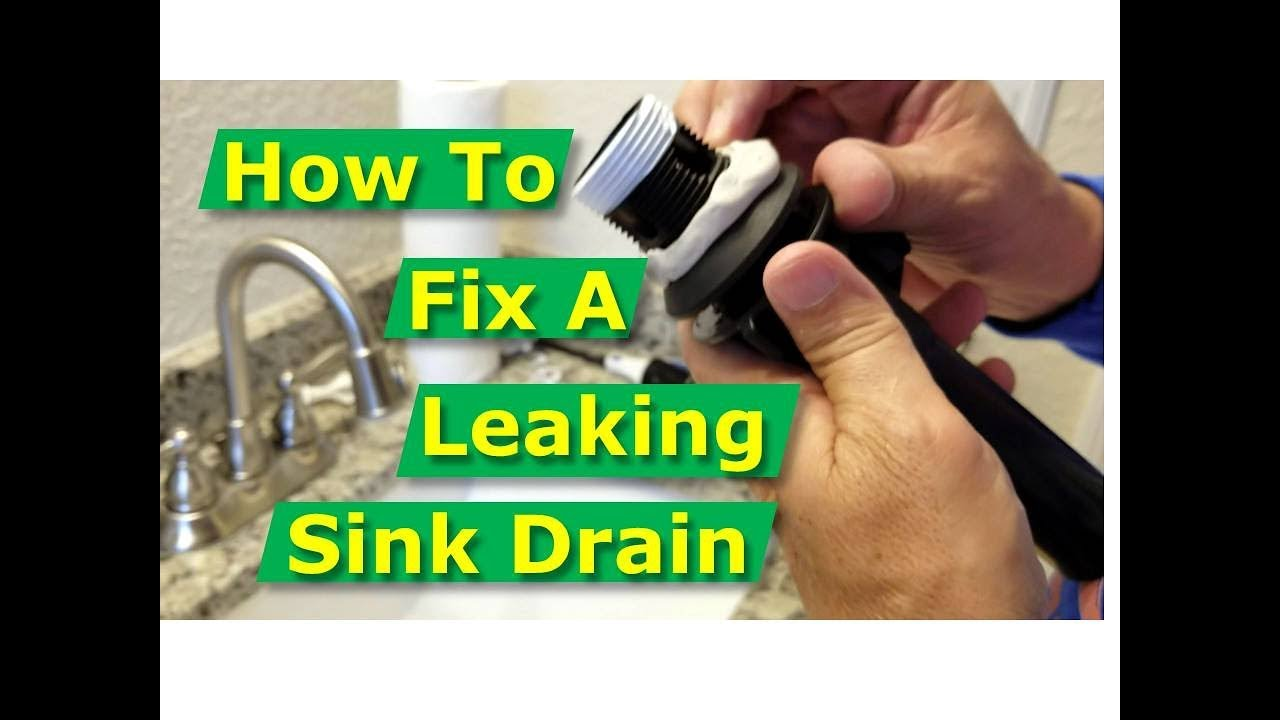 Kitchen Drain Leaking Repair Service Topeka Kansas