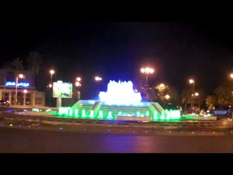 Dancing fountains in Fez, Morocco