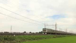 JRE233系U218編成1526E 普通 小金井行き JR東北本線 東鷲宮~栗橋 区間にて