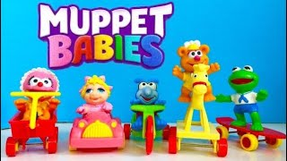 MUPPET BABIES Toys McDonald's Happy Meal Rare Complete COLLECTION!
