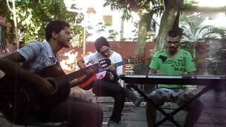 Muse - Panic Station Acústico (Cover) Cristiano Cruz, Bruno Santos, Tiago Fagundes