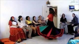 Sarau Cigano e Mostra de Danças - Viviane Rocha - TC Danças Ciganas