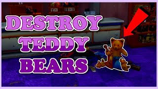 Destroy Teddy Bears Daily Quest | Fortnite Save The World Guide