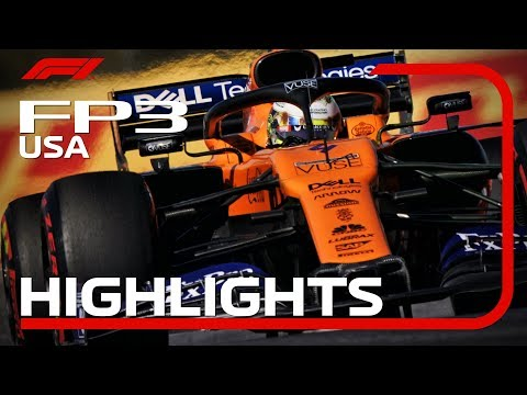 2019  United States Grand Prix: FP3 Highlights