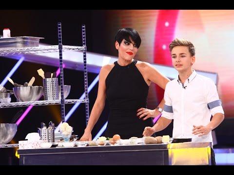 Andrei Maria, din București, gătește alături de chef Patrizia Paglieri, Next Star