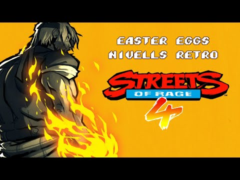 Easter Eggs retro d'Streets of Rage 4