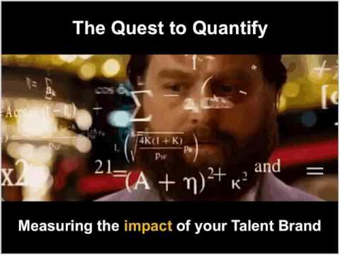 Tracking Impact: Quantifying the Success of your Talent Brand