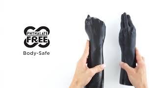 video Ruka na fisting s odnímatelnou rukojetí THE HAND