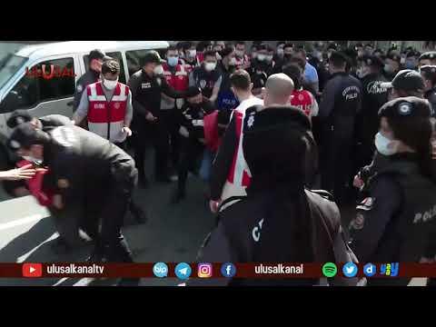 1 Mayıs gösterilerinde 394 kişi gözaltına alındı