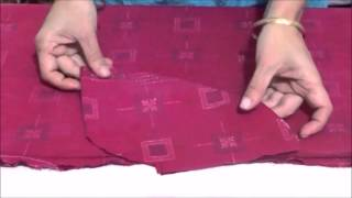 How to attach a Side-Pocket to your Kurti/Kameez width=