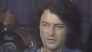 Deep Purple interview from Japanese TV in late 1984